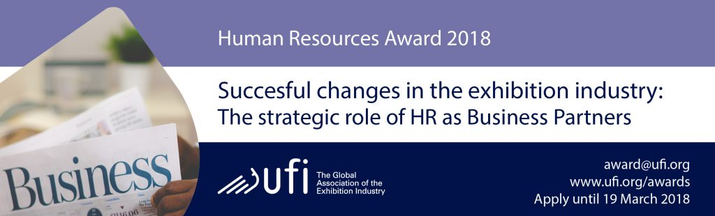 Exhibition Industry Award for HR Management