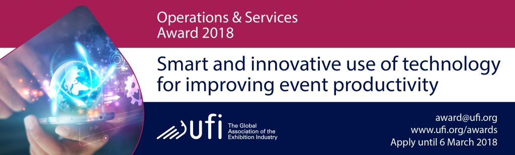 Exhibition Industry Award for Operations and Services projects